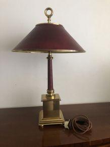 Lampe de bureau. Vintage. Style minister.