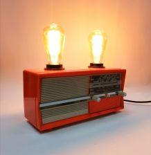 "Lampe industrielle, lampe vintage - ""Vintage Radio"""