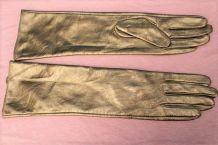 gant long dore similir cuir année 80 TM
