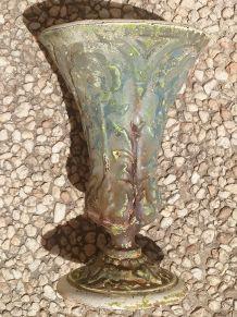 vase  en  fonte ancien  type  medicis