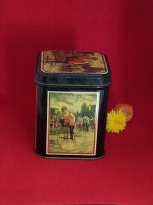 Boîte métal à thé