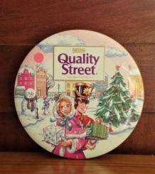 Boîte métal Quality Street 1997