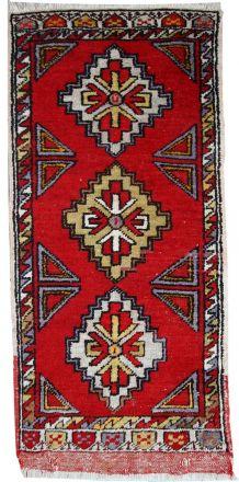 Tapis vintage Turc Yastik fait main, 1C496