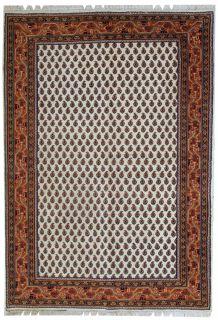 Tapis vintage Indien Seraband fait main, 1C519