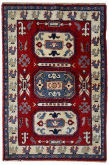 Tapis vintage Caucasien Kazak fait main, 1C521