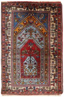 Tapis vintage Turc Konya fait main, 1C528