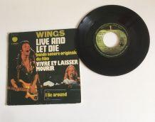 Wings (P. McCartney )- Vinyle 45 t