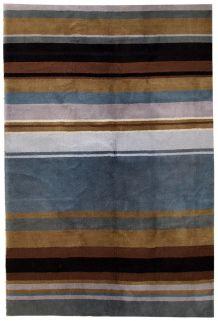 Tapis vintage Indien Modern fait main, 1C551
