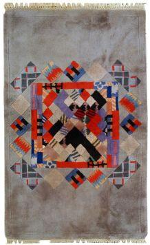 Tapis vintage Tibétain Khaden fait main, 1C574