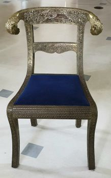 Chaises indiennes style Angl Raj