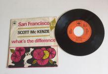 "Scott Mc Kenzie ""San Francisco"" - Vinyle 45 t"