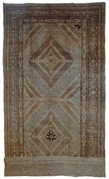 Tapis ancien Turkestan oriental Khotan fait main, 1B686