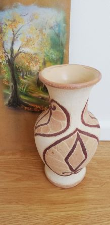 Vase style terre cuite