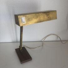 Lampe design Pfaffe Leuchten dorée vintage 1950 - 33 cm