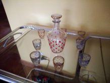 service à liqueur vintage (coffret)
