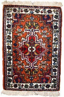 Tapis vintage Persan Hamadan fait main, 1C614