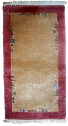Tapis vintage Tibétain Khaden fait main, 1C625