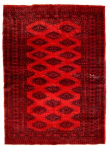 Tapis vintage Afghan Ersari fait main, 1C655