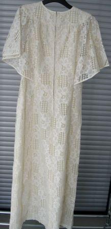 Robe vintage des années 70