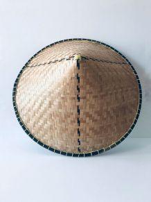 Chapeau chinois ancien décoratif