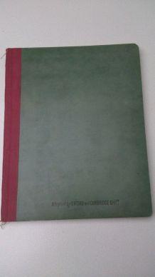 cahier d'études ancien - Belle qualité
