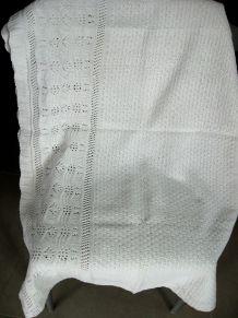 Tissu ancien en coton tricoté
