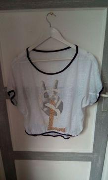 T shirt fluide fantaisie