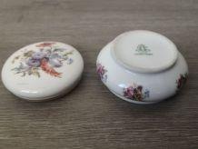 Bonbonnière en porcelaine, estampillé « Limoges France »