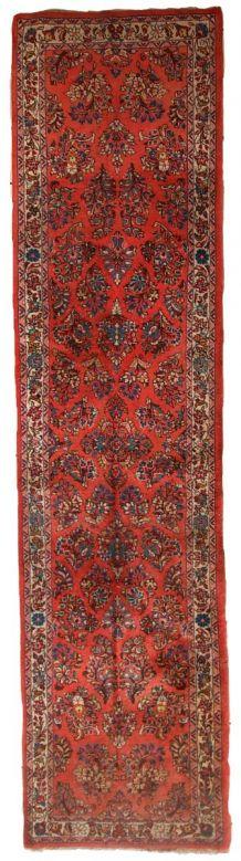 Tapis vintage Persan Sarouk fait main, 1C691