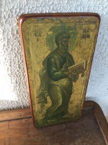 Cadre religieux Orthodoxe réalisé à la main