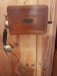 Téléphone style industriel