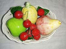 Ancienne corbeille de fruits
