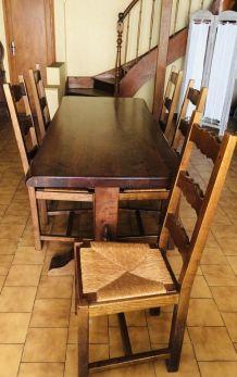 tables et 5 chaises