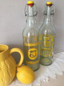 Ancienne bouteille de limonade DUMESNIL