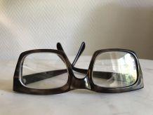 lunettes celluloïd film - vintage 60's - unisex et unique!