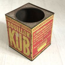 Boite Bouillon KUB