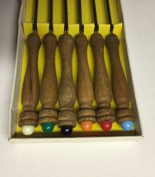 Boite de 6 fourchettes/brochettes à Fondue