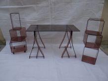 Bureau & meubles de rangements de Gacita et Tiberi