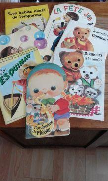livres pour enfants années 70
