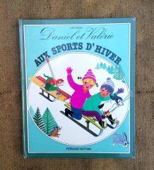 Daniel et Valérie aux sports d'hiver 1982