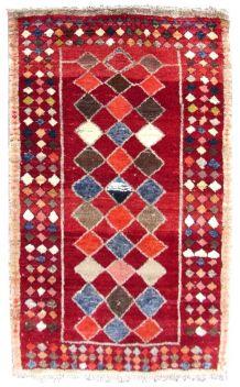 Tapis vintage Persan Gabbeh fait main, 1Q0250