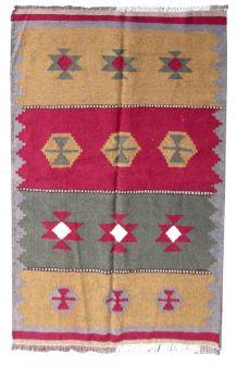 Tapis vintage Persan Ardabil fait main, 1Q0251