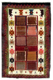 Tapis vintage Persan Gabbeh fait main, 1Q0262