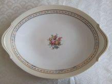 Plat ovale Porcelaine de LIMOGES Raynaud & Cie