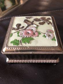 Coffret à bijoux laiton ou bronze des années 50