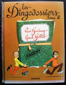 BD Les dingodossiers - Tome 2 - EO Dargaud 1972