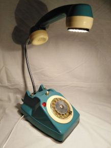 Lampe telephone/lampe industrielle/lampe vintage