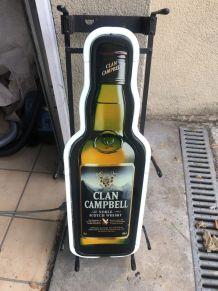 Enseigne neon clan Campbell