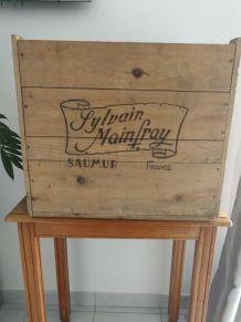 Caisse en bois Saumur