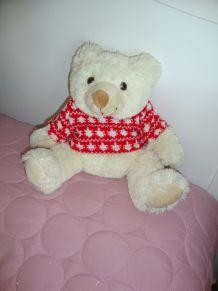 Petit ours peluche années 90